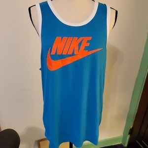 Nike Terquoise Tank Top Size Large